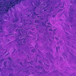 violet ruffle kinda 3d swimwear bikini with flowers
