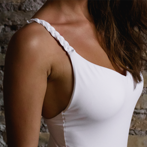 Kinda white vanilla one piece swimsuit 3D braids braided shoulder straps Swimwear two pieces Pink 3D fabric ruffles bikini with flowers swimsuit costumi donna estate summer 2019