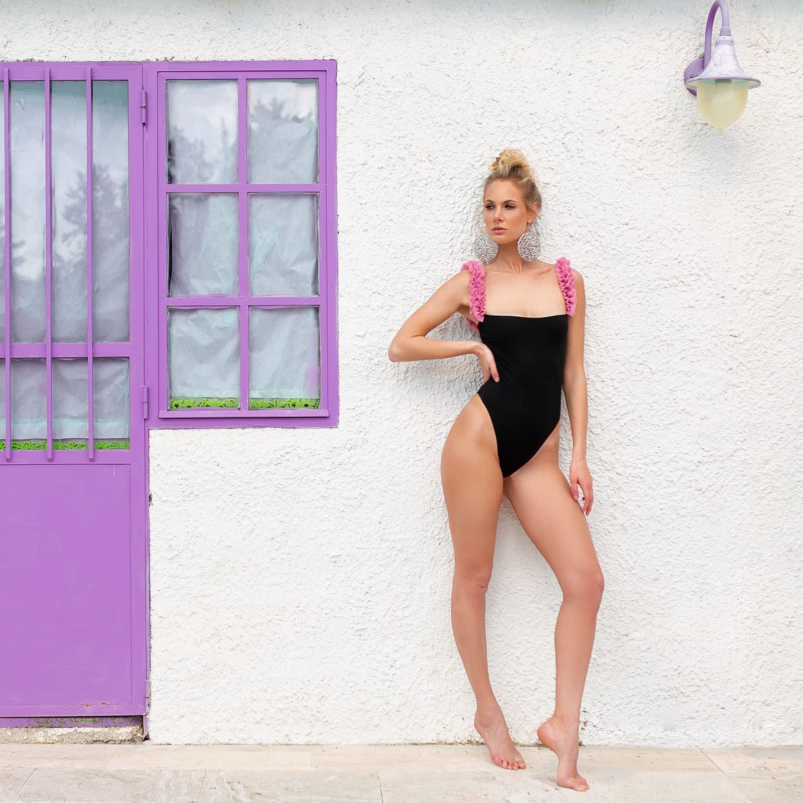 Kinda 3D Swimwear grace onepiece swimwuit ruffles