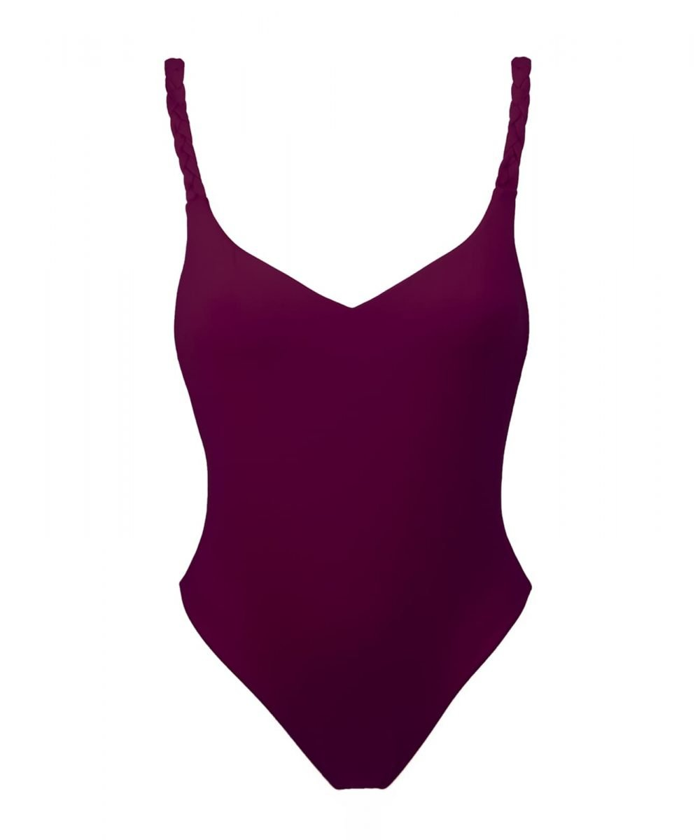 plum swimsuit violet bodysuit limited edition