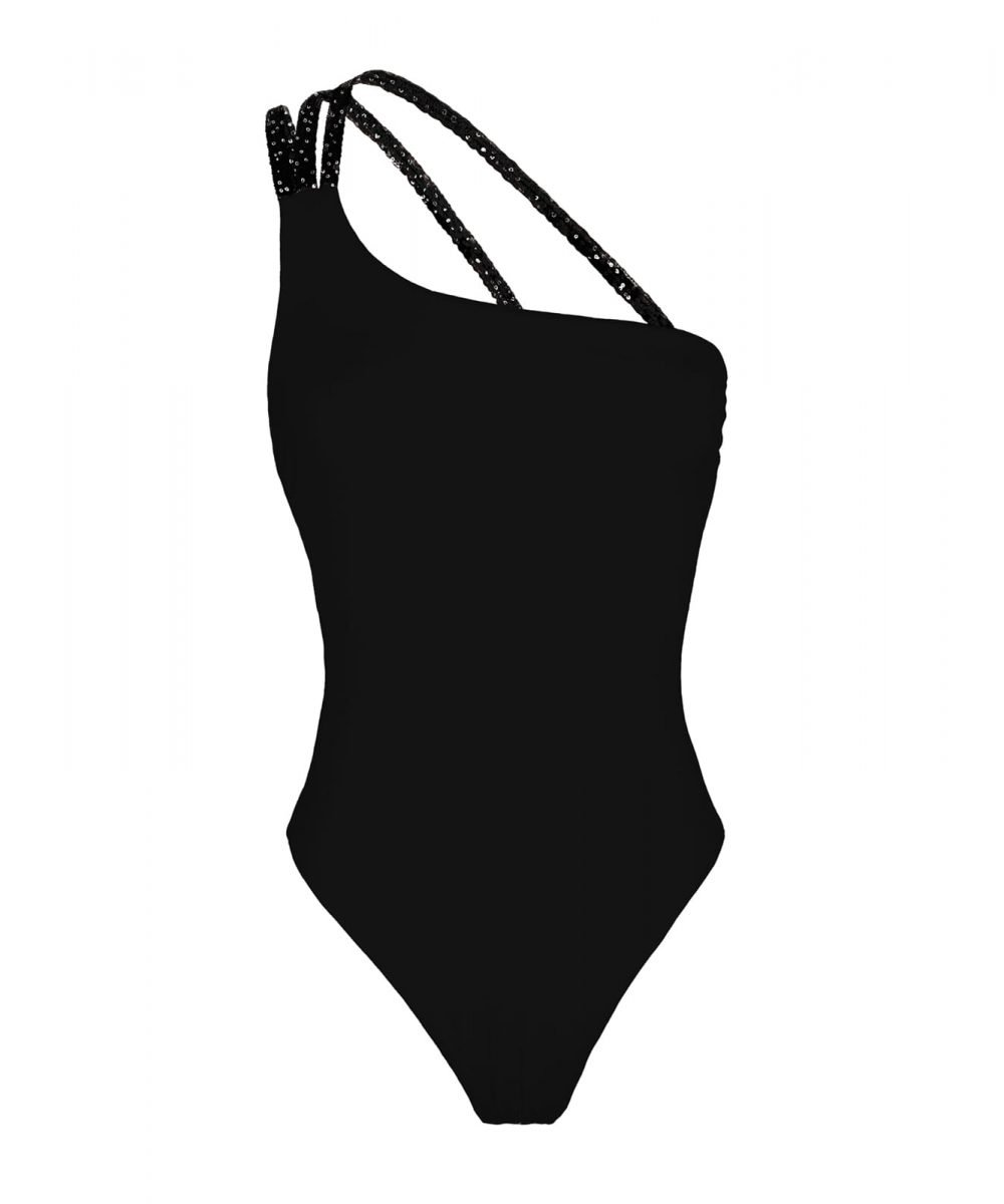 Etoile one piece swimsuit white black salmon one shoulder bikini summer 2020 2021 costume intero monospalla nero bianco salmone rosa arancio nero skims bodysuit kinda 3d swimwear